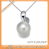 Guaranteed Genuine 925 silver set AAA freshwater pearl pendant first 100 pieces sell at cost price and shipping frree promotion