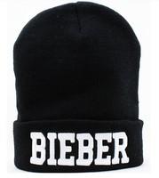 Free Shipping BIEBER Beanies Winter Cap For Knitted Winter Hat For Men Hip-hop wool cap 10pcs/lot