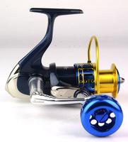 High Quality okuma Spinning Salina SAII-4000A 9BB 250M Front Drag Spinning Reel Pre-Loading Spinning Wheel Spinning Fishing Reel