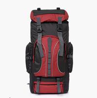 Outdoor travel bags men/ women backpack folding ride backpack not printing ultra-light waterproof nylon mountaineering bag