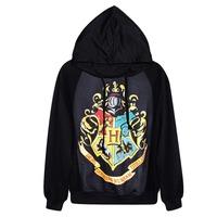 New Womens Hoodie Galaxy Hogwarts Sweater Harry Potter Winter Coat Printed 3D Tops Long Sleeve Pullover Loose Sweatshirts
