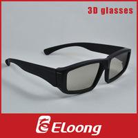 Eloong Plastic Circular polarized 3D Glasses 50pcs/lot Free shipping GPL001C