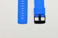 2 PCS* Fits Suunto Core Blue Flat Replacement Rubber Strap Loop/ Holder/ Locker/ Table ring