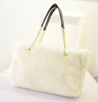 Free shipping Corduroy material women handbags for autumn and winter season