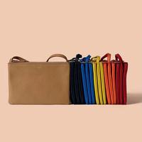 2014 New bag holding three bags women bags envelope bag Messenger bag