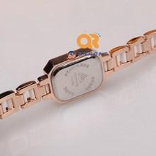 women dress watches female new ceramic watch enamel temperament leisure fashion elegant analog crystal rhinestone wrist