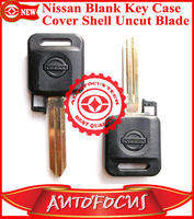 Blank Key Case Cover Shell Fob Uncut Blade Replacement For Altima Pathfinder Maxima Sentra 350Z High Quality