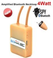 Skin Color Wireless Bluetooth Loop For Hidden Micro Earpiece