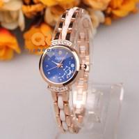 Free Shipping luxury watch Lady crystal enamel ceramic watches women rhinestone dress wrist brand watch best quartz steel watch