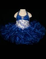 Little Rosie Halter Neck Infant Size Pageant Dress BR1076