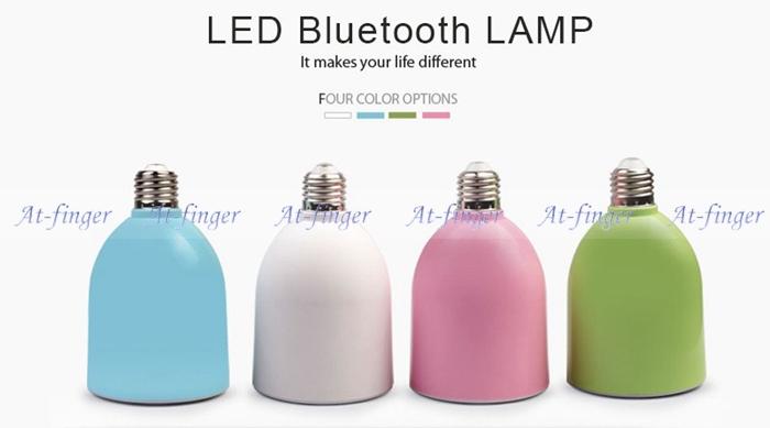 E27 LED Bulbs Use Wireless Bluetooth&Audio&Speaker&Music Playing&Lighting Remote Control Adjustable Brightness And Volume(China (Mainland))