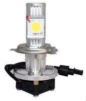 send from USA  12V 24V NEW 50W CREE LED Head Light Head lamp KIT H4 hi low beam 6000K
