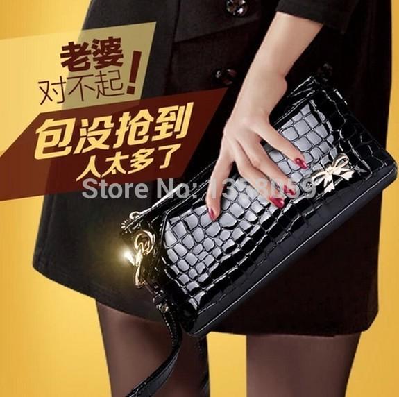 2014 Free shipping Women's handbags Hand Messenger Handbag Fashion casual fine beauty packs NY0012(China (Mainland))