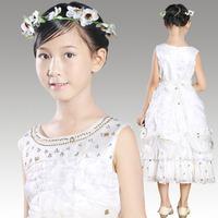 High Quality Fashion New Design Female Child Evening Dress Princess Vestido De Daminha Flower Girl Dresses For Weddings