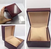new Fashion watch box luxury wood watch box with pillow package case watch Jewelry storage gift box