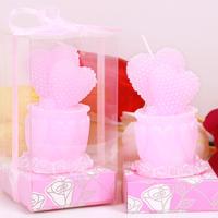 Romantic fashion  Love cake candle