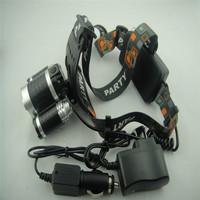 Free shipping 5000Lumens 3x CREE XM-L T6 LED Head Fishing Light Headlamp HeadLight Lantern Front Car charger
