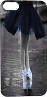 beautiful ballet dancer Hard Unique Designer Slim Pattern Thin Protective Shockproof Drop  Case for Iphone 5 5S 5G