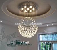 D30cm D40cm D50cm D80cm Ceiling light , Modern Crystal pendant light