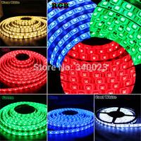 5M SMD 5050 300 Leds Car Strip String Light IP65 12V Waterproof, Warm/Cool White/RGB/Blue/Green/Red 5050-300DW