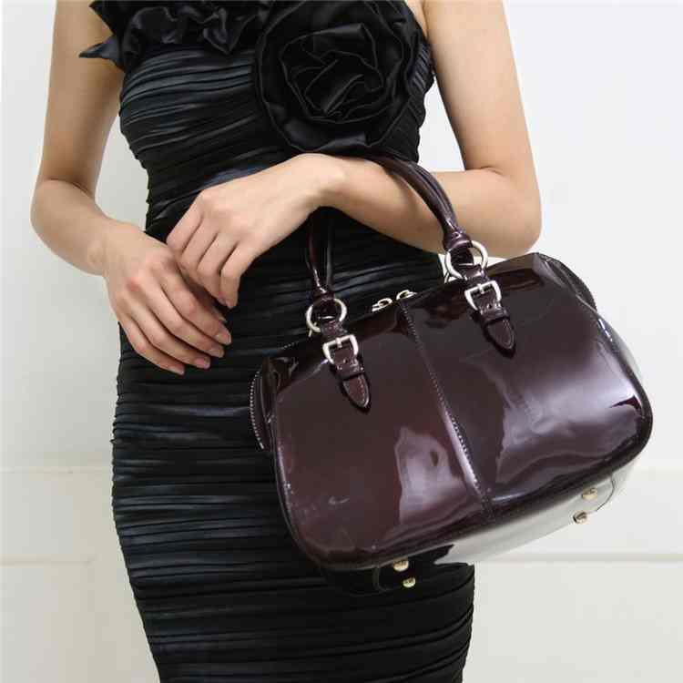 Latest handbags fashion quality handbags quarter bag real leather women bag Crossbody bag 3142(China (Mainland))