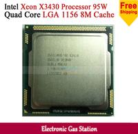Original Processor for Intel Xeon X3430 Quad Core 2.4GHz LGA 1156 8M Cache 95W Desktop CPU