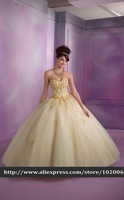 2014 Top Grade Design Golden Embroidery Beading Adorable Princess Ball Gown Prom Red Quinceanera Dresses debutante gowns Bolero