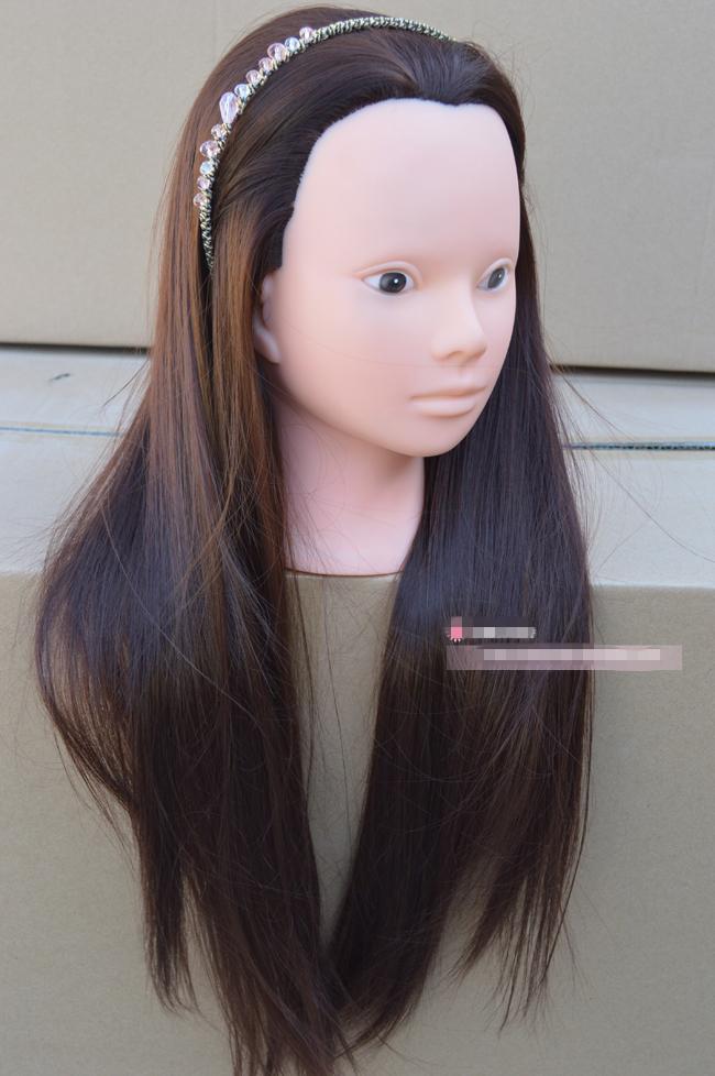 Long Hair Manikin Long Hair Mannequin Head With