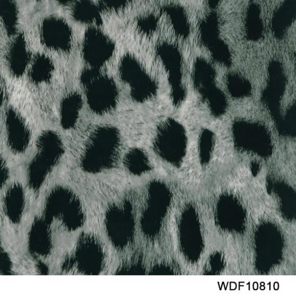 WDF10810 Decorative Material 20 square Width 1m animal water transfer film(China (Mainland))