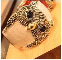 New Arrival Fashion hot sell luxury High-grade Owl wide open chain bracelet&bangle women jewelry MD1486