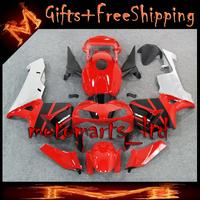 * INJ Fairings For HONDA CBR600RR 2003 2004 red Fairing Bodywork Plastic Kit Fit CBR 600 RR CBR600RR 2003 2004 71 W9- INJECTION