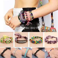 15style Customized Friendship Bracelet Boho Hope Peruvian Wool Bracelets Handmade Ethnic New Folck Art Peru