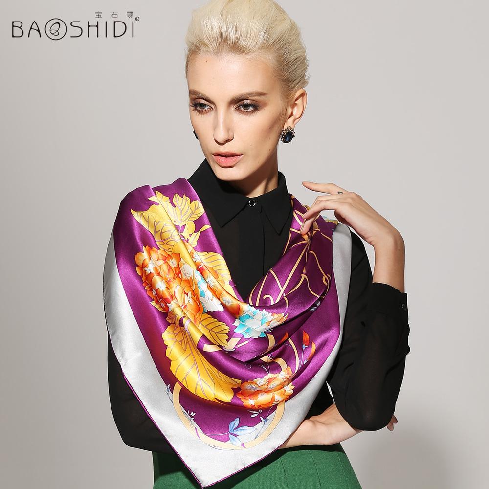 butterfly silk large square silk scarf 2014 new fall silk scarf / Ziyang Wang(China (Mainland))