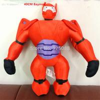 40cm Big Heros 6 Baymax Stuffed Plush Robot Doll High Quality Big Hero 6 Baymax Plush Doll Toys For Kids Christmas Gift