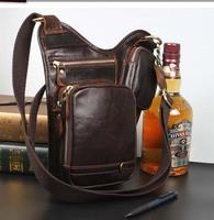 genuine leather messenger bags for men shoulder bag male crossbody bag cowhide