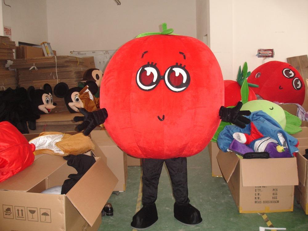 Костюм помидора из картона 163