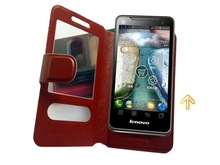 Free shipping universal 4.5 inches Diomand phone Leather Case For octa core mtk6592 Lenovo phone 4.5″  mtk6589 Android HD IPS