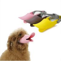 FREE SHIPPING Duckbilled Pet Dog Muzzle Silicone Muzzle Dog Mask Anti Barking Eating