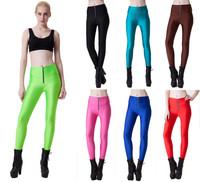 Summer/Autumn New 2014 Solid Leggings for Ladies Elastic Zipper Waist Design Yoga Sports Legging Pants Fitness Leggins S16-12