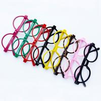 5Pcs/Lot Star style glasses fashion vintage big round box eyeglasses frame glasses frame non-mainstream circle Free Shipping