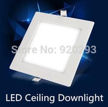 1X Led Downlights 3W 6W 9W 12W 15W 18W  110V 220V LED Ceiling Downlight  Lamps Led Ceiling Lamp Home Indoor Lighting(China (Mainland))