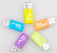 2014 hot sale special offer external free shipping memory TF Micro SD card reader Multi usb 2.0 usb 2.0
