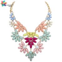 Spring 5 Colors Collares 2014 Newest  Rough Style Unique Fashion Women Necklaces For Sale [CN9281]