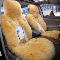 Car seat cushion winter wool cushion wolf seat car mats set auto supplies xy002, wool car seat cushion