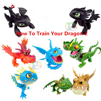 Wholesale 80PCS/Set How To Train Your Dragon 2 PVC Action Figures Classics Toys, Night Fury Toothless Dragon Toys Chirstmas Toys