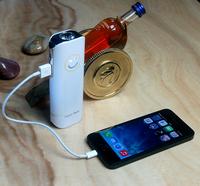 Factory Direct Flashlight  portable 2x18650 battery 2400mah/5600mah   usb power bank   For Cell Phones