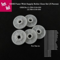 1000k Fuser Web Supply Roller Set  5 pieces  For Use in Canon ImageRunner5570 6570 5050 5070 5000 6000 5020 6020  5055 5065 5075
