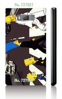 hot cartoon The Simpsons style hard white case cover for LG L7 one piece free shipping