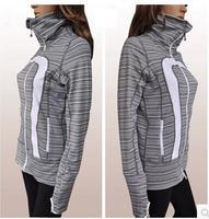 New Stock~ Lulu In stride jacket lady yoga wear casual lulu hoodies sweatshirts outwear top for women