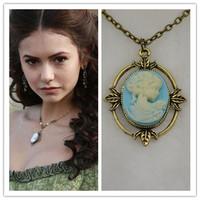 New Movie Necklaces & Pendants Katherine Necklace THE Vampire Diaries Necklace Wholesale 20pcs/lot